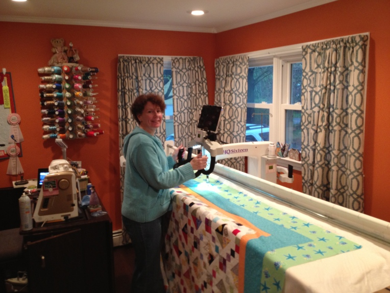 Where beautiful quilts are finished!