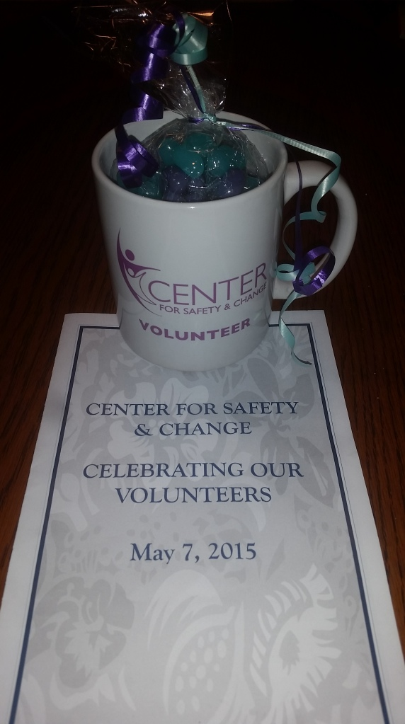 Center for Safety and Change Volunteer Appreciation