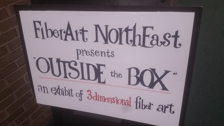 FiberArt NorthEast presents OUTSIDE the BOX